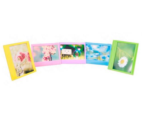 5Pcs Photo Decor Borders Frame for Fujifilm Instax Wide 210/ 200/ 300 Films