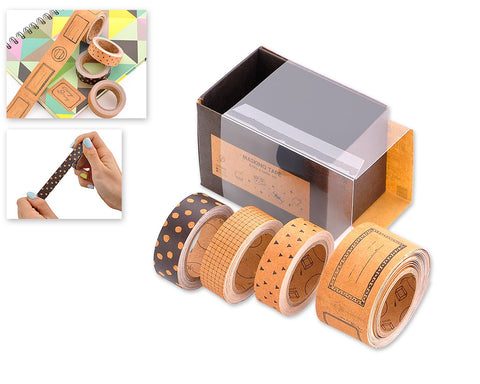 4 Pieces Washi Tape Set Decorative Masking Tape for DIY Crafts
