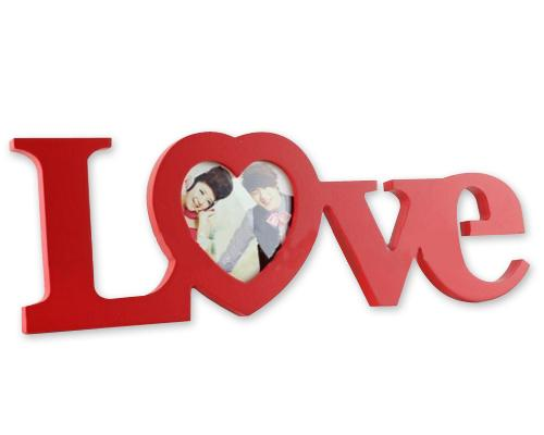 Sweet Love Series Wedding Photo Frame - Red