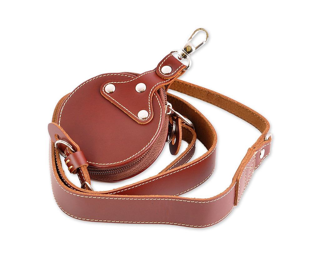 Retro Genuine Leather Shoulder Strap