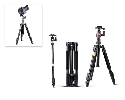 Aluminium 20'' - 55'' Ball Head Designed Camera Tripod