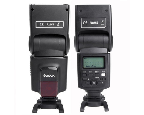 Godox Speedlite TT680C Canon Flash with GP Rechargeable Batteries