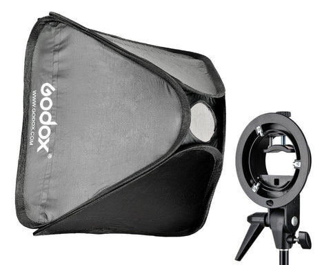 Godox SFUV6060 Softbox with S Bracket Bowens Mount Holder