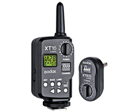 Godox XT-16 2.4G Wireless Remote Power Control and Flash Trigger