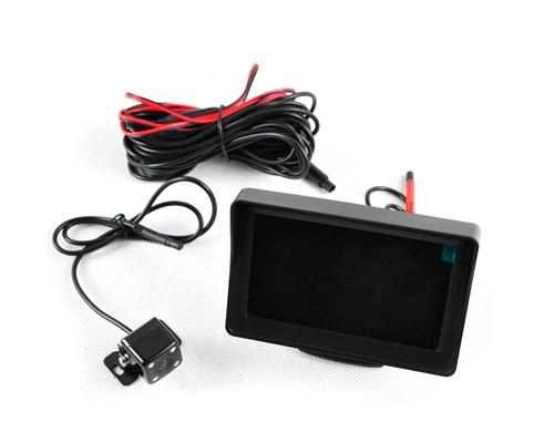 "4.3"" HD Night Vision Rear View Backup Camera LCD Monitor"