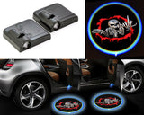 2 Pcs Wireless Car Door Shadow Laser Projection Logo LED Light