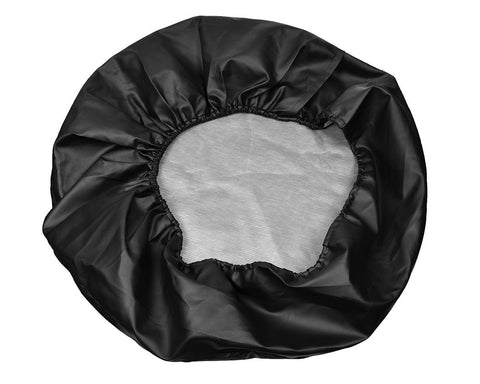 Large Universal PVC Car Auto Spare Tire Cover - Black