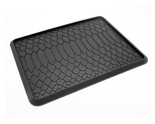 Snake Pattern Non-Slip Car Mat Dashboard Pad for Mobile Phone and GPS