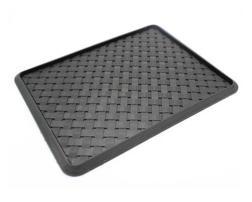 Gird Pattern Non-Slip Car Mat Dashboard Pad for Mobile Phone and GPS