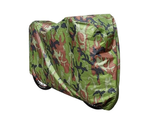 190T Nylon Heavy Duty Waterproof Bicycle Cover - Camouflage