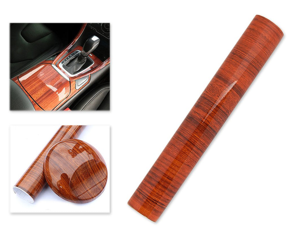 Matte Wood Grain 1M Vinyl Car Sticker Wrap Sheet Roll Film Skin - A