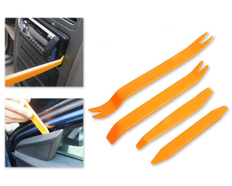 4 Pcs Vehicle Audio Trim Removal and Installer Pry Tools