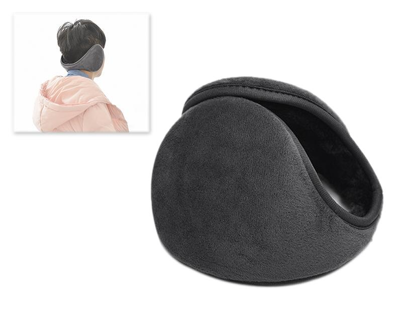 Classic Winter Unisex Foldable Headphone Ear Muffs - Grey