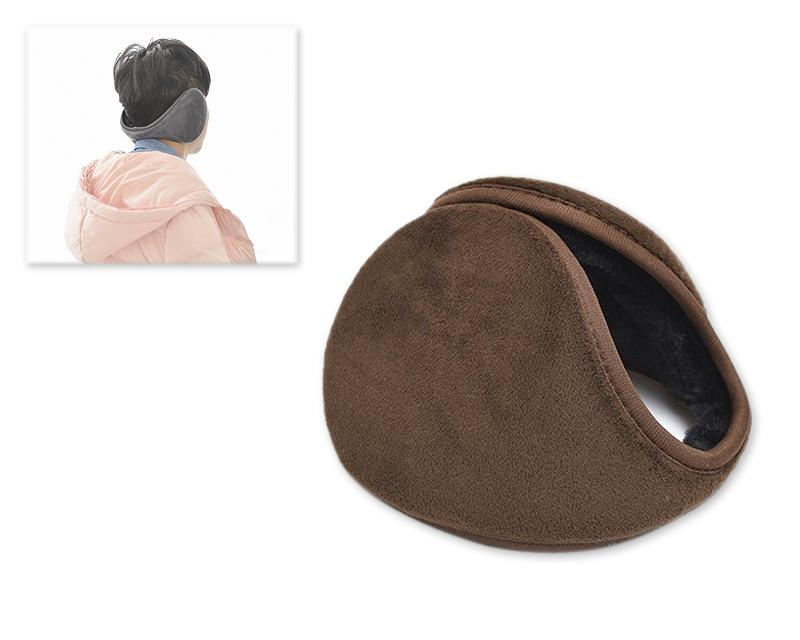 Classic Winter Unisex Foldable Headphone Ear Muffs - Brown