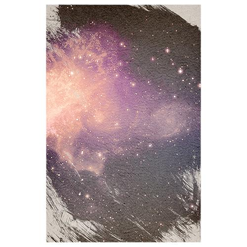 Galaxy on Canvas Designer Phone Cases
