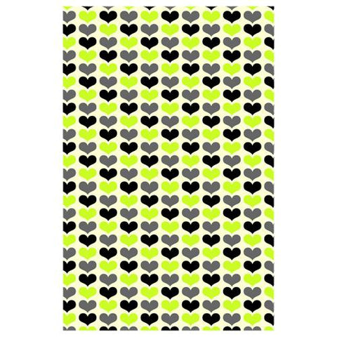 Hearts Wall Designer Phone Cases
