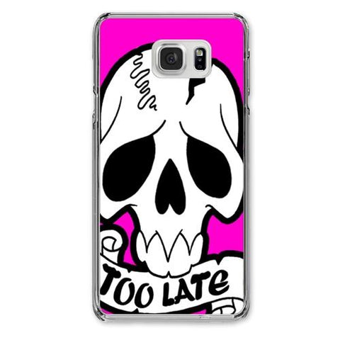Too Late Designer Phone Cases