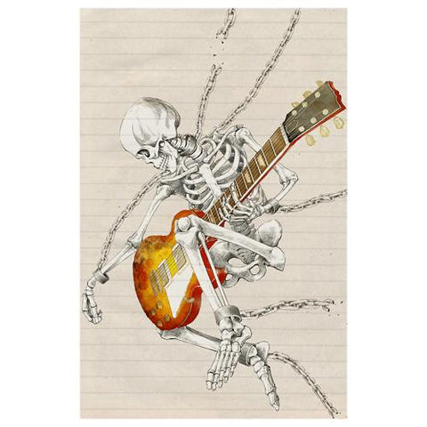 Hard Rock Skeleton Designer Phone Cases