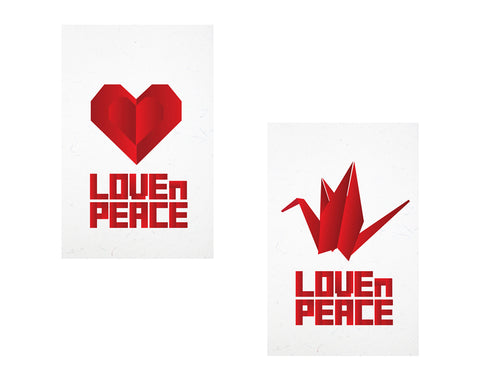LoveNPeace Designer Phone Cases