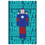 I Want To Be Hero Designer Phone Cases