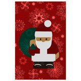 Warm Winter Snowman with Red Hat Designer Phone Cases