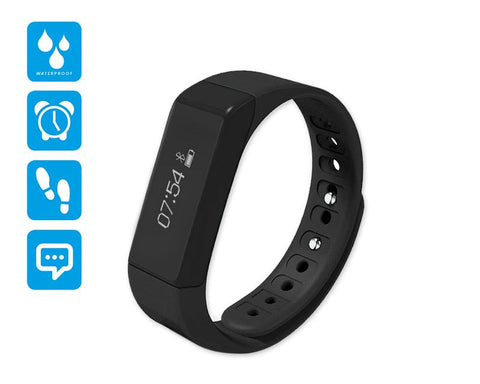I5 Plus Smartwatch Fitness Tracker Wristband - Black