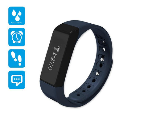 I5 Plus Smartwatch Fitness Tracker Wristband - Blue