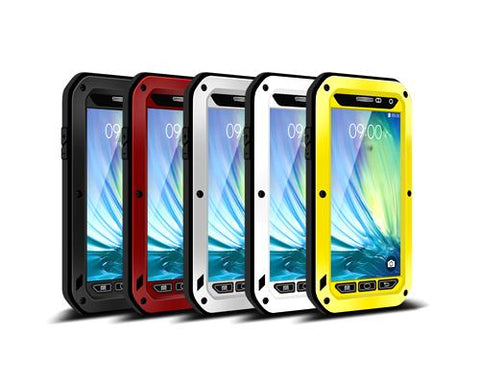 Waterproof Series Samsung Metal Phone Cases