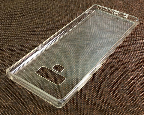 Samsung Galaxy Note 9 Clear Case TPU Bumper with Acrylic Back