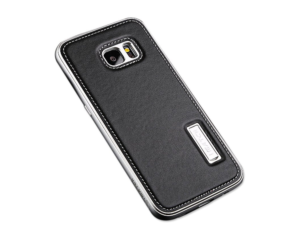 Seam Series Samsung Galaxy S7 Edge Genuine Leather Case
