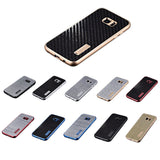 Carbon Fiber Series Samsung Galaxy Metal Case