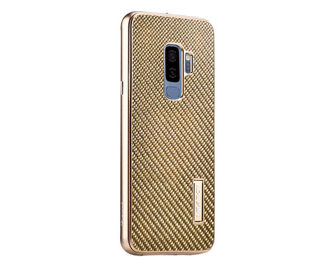 Samsung S9 Plus Metal Case with Carbon Fiber Back
