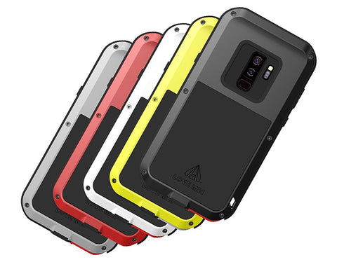 Samsung Galaxy S9+ Waterproof Case Shockproof Metal Phone Case