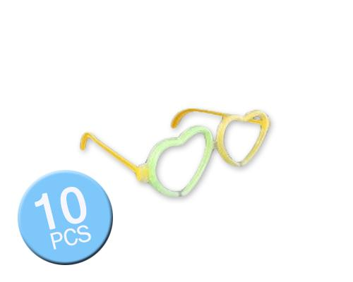 Multi Color Glow Stick Glasses for Party