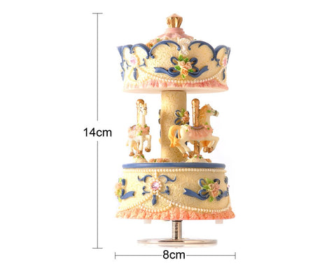 Musical Carousel Music Box