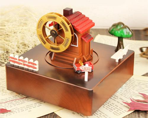 Vintage Countryside Music Box