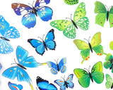12 pieces DIY Home Decoration 3D Butterflies Wall Stickers