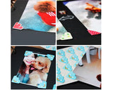 4 Sheet DIY Craft Diary Scrapbook Photo Album Corner Sticker Bundle