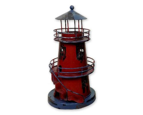 Mediterranean Style Lighthouse Home Decor Candle Holder