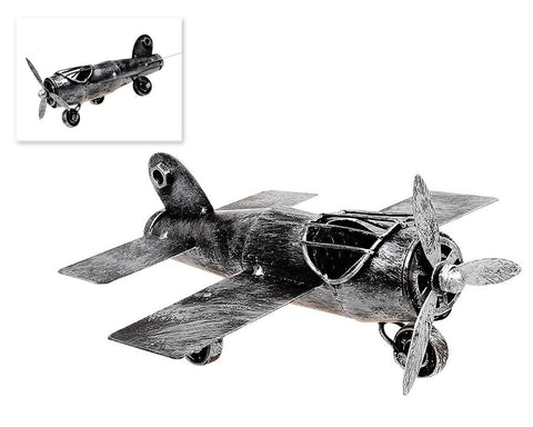 Retro Metal World War II Military Aircraft Toy Model