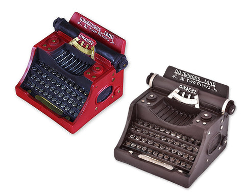 Vintage Miniature Typewriter Decor Model