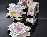 Fairytale Carriage Wedding Candy Boxes