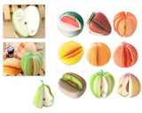 Set of 10 Fruit Series Mini Sketch Pads