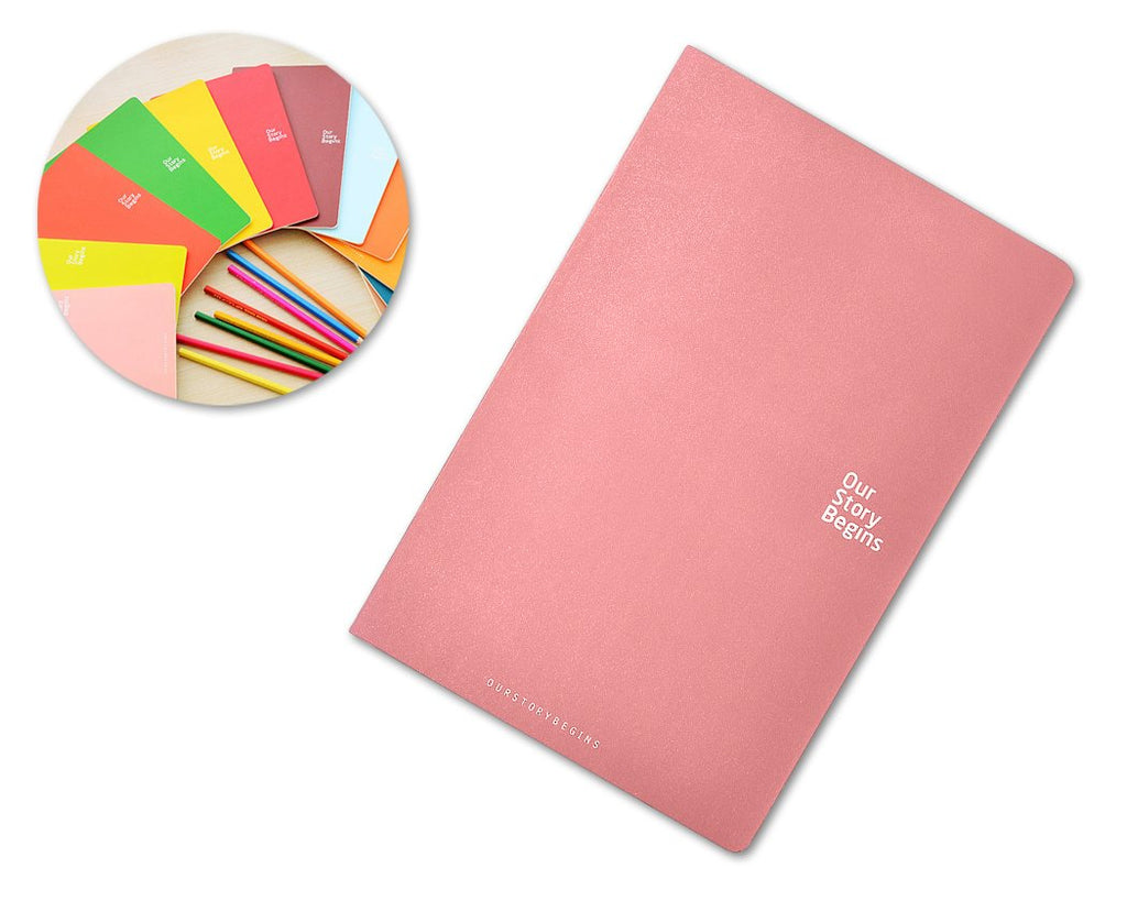 Diary Journal Writing Notebook Agenda Scheduler Memo Book - Pink
