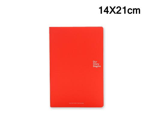 Diary Journal Writing Notebook Agenda Scheduler Memo Book - Bright Red