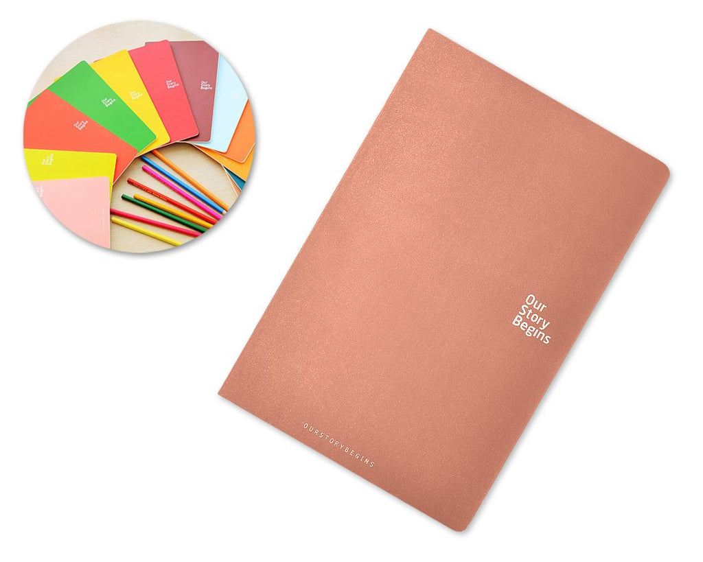 Diary Journal Writing Notebook Agenda Scheduler Memo Book - Coffee