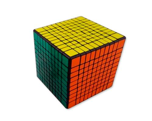 Shengshou 10x10x10 Speed Magic Cube with Glossy Stickers
