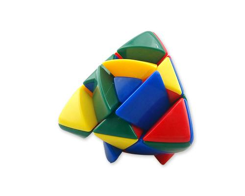 Mastermorphix 3x3x3 Stickerless Plastic Puzzle Speed Cube