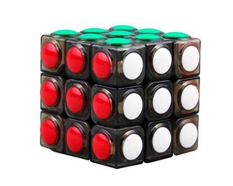 YJ 3x3x3 Round Dot Tile Puzzle Magic Speed Cube