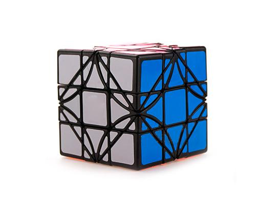 3x3x3 Challenging Brain Teaser Irregular Magic Speed Cube - Black